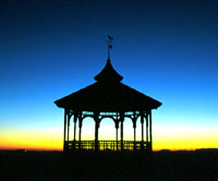 Oak Bluffs Bandstand - Sam Low Photo
